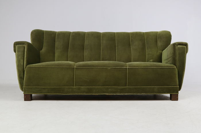 Seats And Sofas Adresse Three-seat Art Deco Sofa - Catawiki