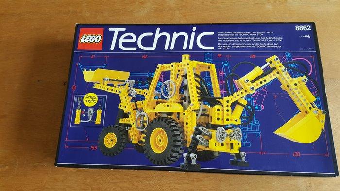 Lego Technic - 8862 - Backhoe Grader - Catawiki