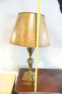 Stiffel brass table lamp (67 cm) USA, 1950s