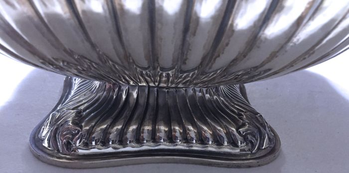 Rice Serving Bowl Silversmith A Cesa Alessandria 20th