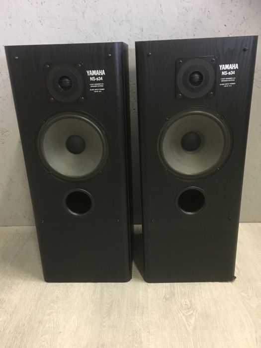 2 Weg Speakers Yamaha Ns-s34 - 2-weg Bass Reflex Floor Standing Speakers
