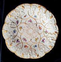 Porcelain Meissen-decorative plate/bowl. - Catawiki