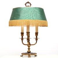 Vintage French Three-arm Bouillotte Lamp, circa 1960 ...