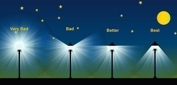 Lamp Bulb Petition · Steven R Schuh: Protect The Dark Sky Of Anne