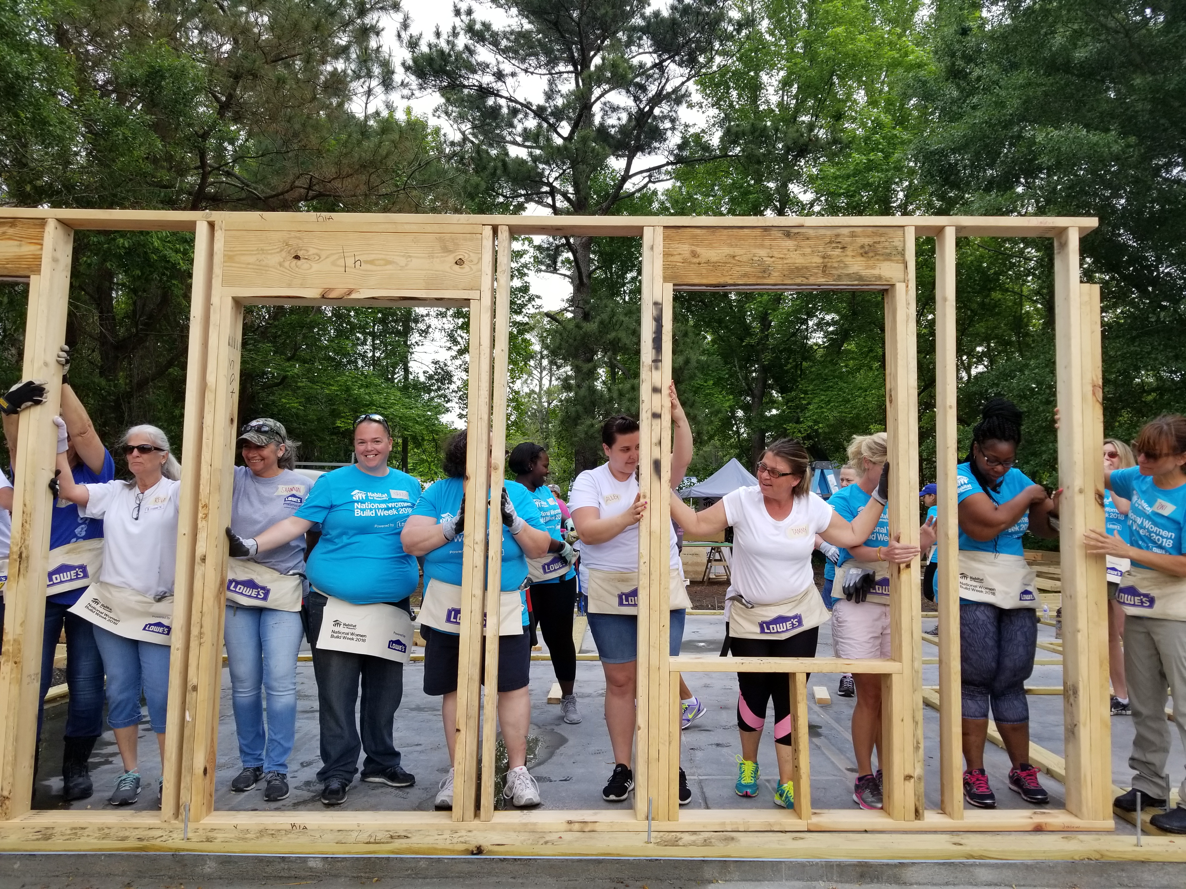 Square Habitat 35 Women Build 2019
