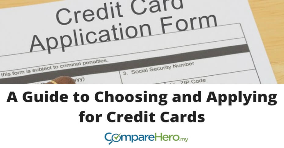 A Guide to Choosing and Applying for Credit Cards CompareHero