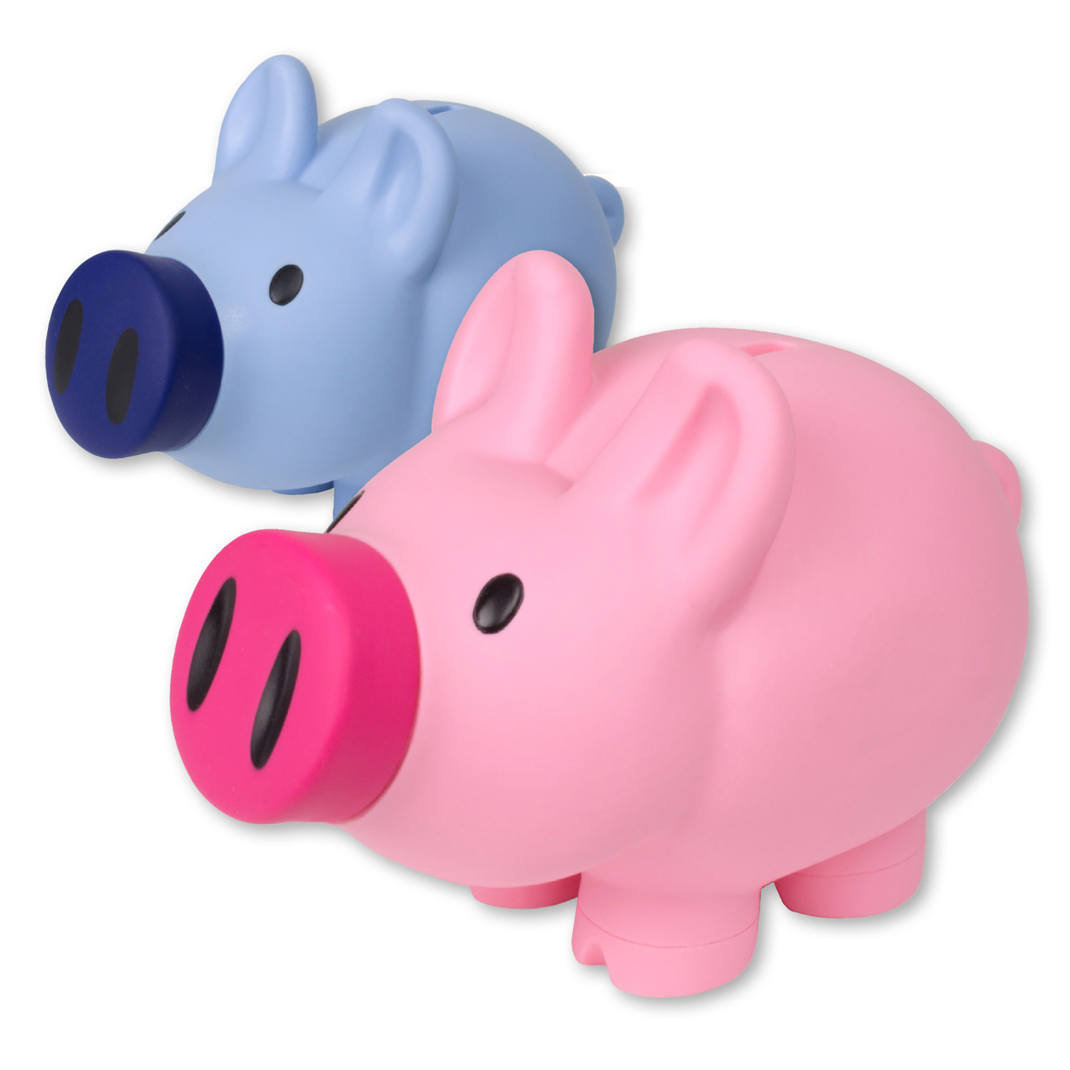 Pink Plastic Piggy Banks Giant Happy Piggy Bank