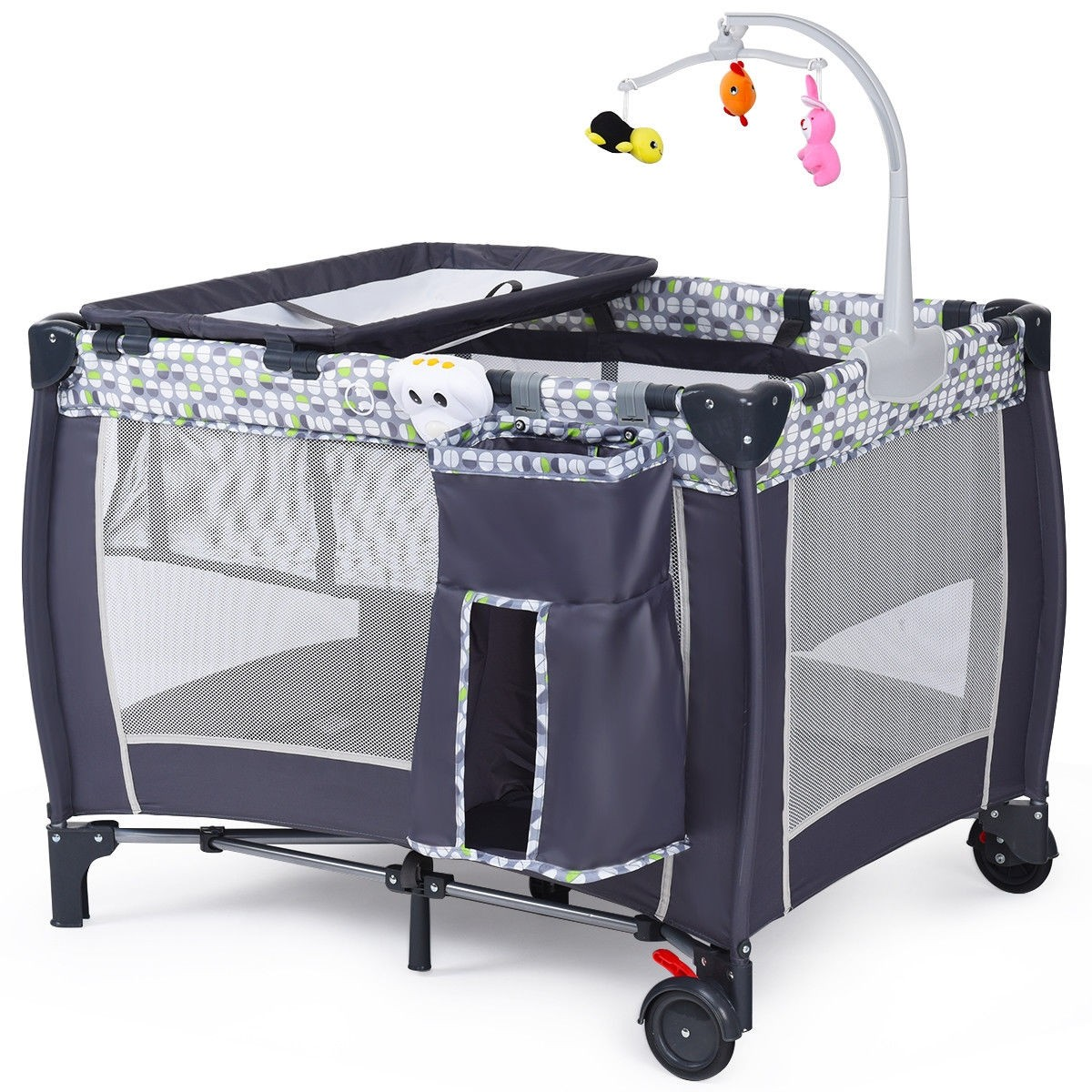 Baby Playpen How Foldable Travel Baby Crib Playpen Infant Bassinet Bed W Carry Bag