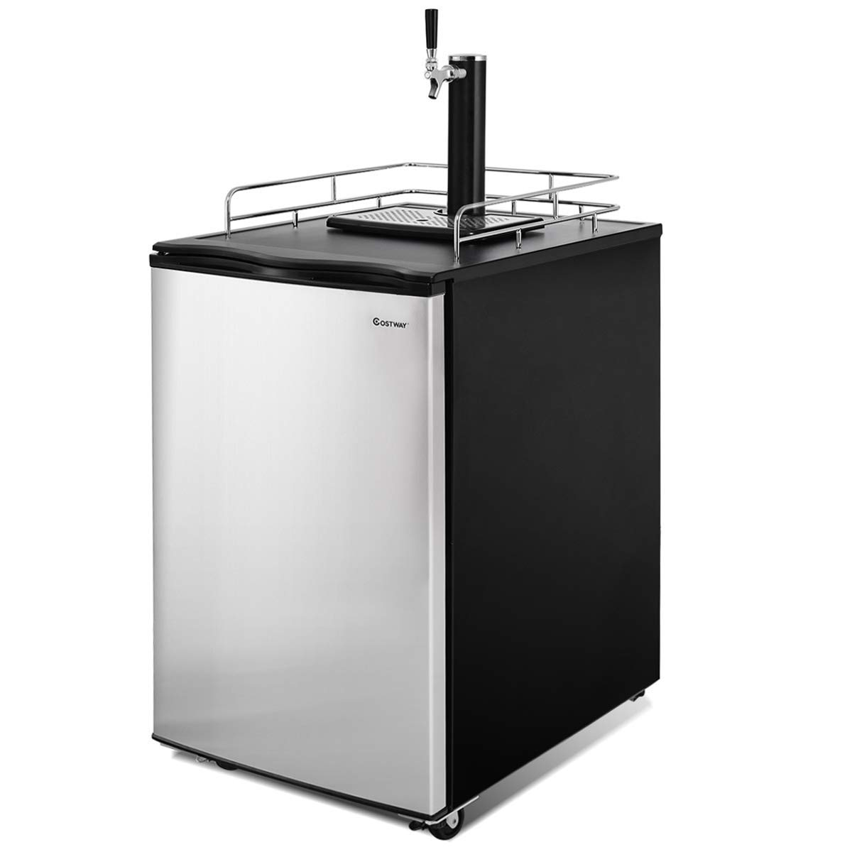 Countertop Beer Cooler And Tap 484 95 6 1 Cu Ft Beer Dispenser Beer Cooler With