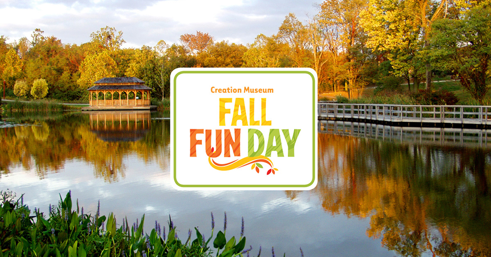 Fall Fun Day Coming to the Creation Museum in October Creation Museum