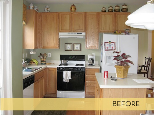 Island In Kitchen Or Not Makeover: First Class Kitchen Upgrade » Curbly | Diy