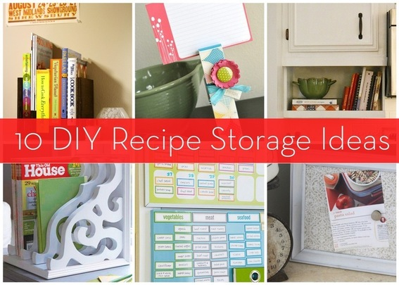 Roundup 10 Recipe And Cookbook Storage Ideas Kitchen