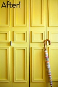 Roundup: 10+ Easy and DIYable Closet Door Makeovers ...