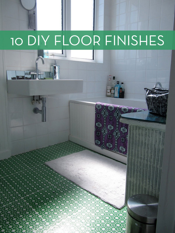 10 Easy And Inexpensive Diy Floor Finishes Curbly