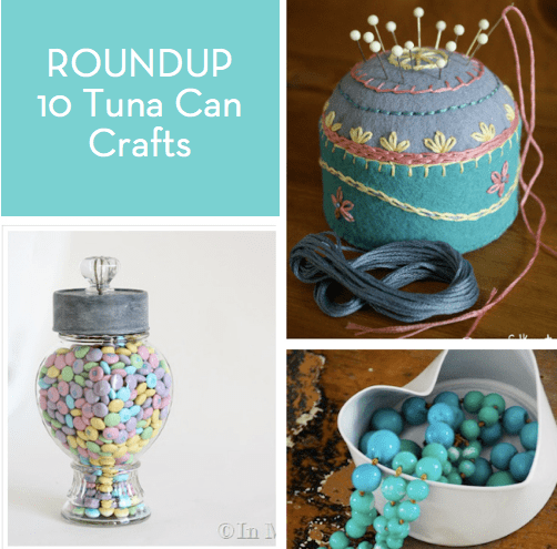 Gift Ideas For Foodies Roundup: 10 Tuna Can Craft Projects » Curbly | Diy Design