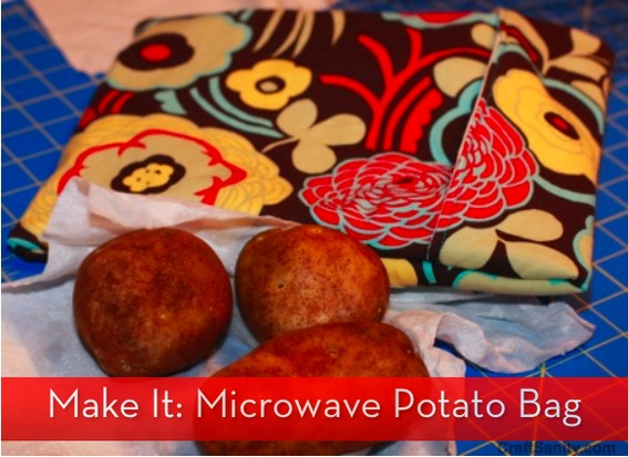 Microwave Stand Ikea How To Sew A Microwave Potato Bag » Curbly | Diy Design