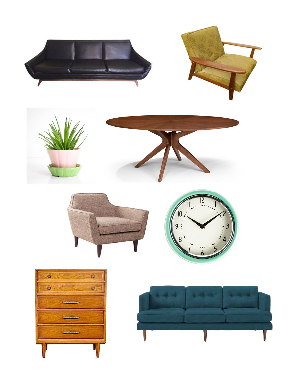 Mid Century Decorations Seriously Awesome Mid-century Modern Furniture And