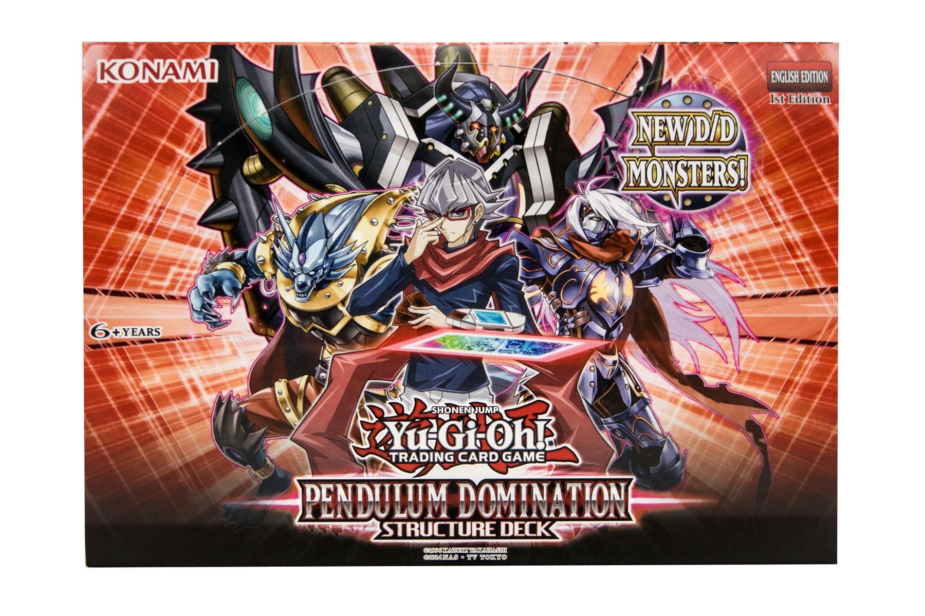 Konami Yu Gi Oh Pendulum Domination Structure Deck Box