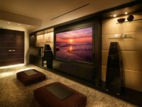 Modern Media Room Design, Pictures, Remodel, Decor And ...
