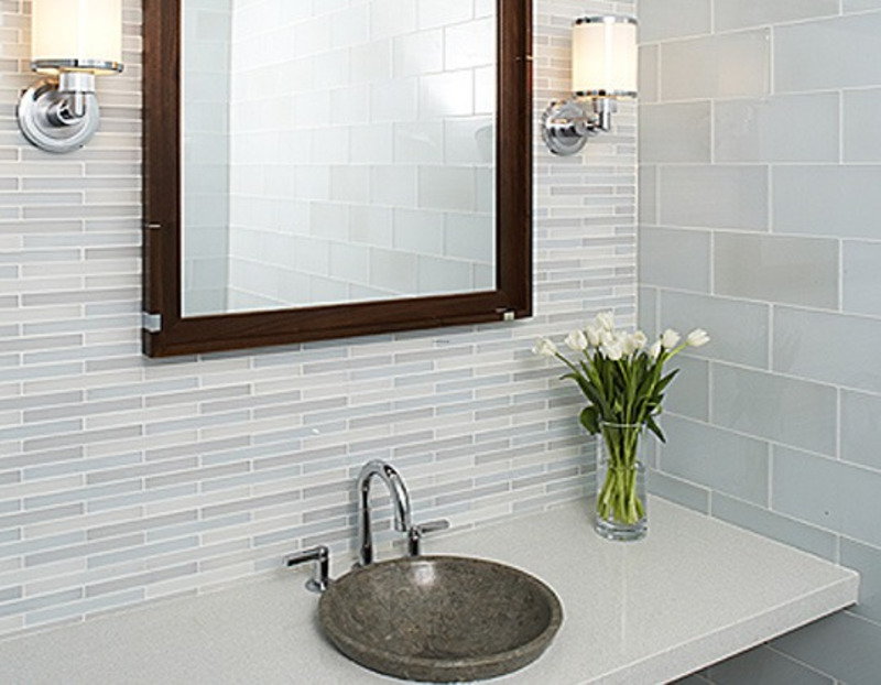home design idea bathroom designs using subway tiles