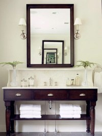 bathroom vanities ideas 2017 - Grasscloth Wallpaper
