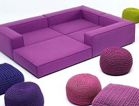 Bright Colorful Modern Furniture Ideas By Paola Lenti