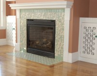 How To Redo Your Fireplace Tile / design bookmark #15929
