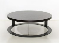 Round Wood Coffee Table As A Special Detail Of The ...