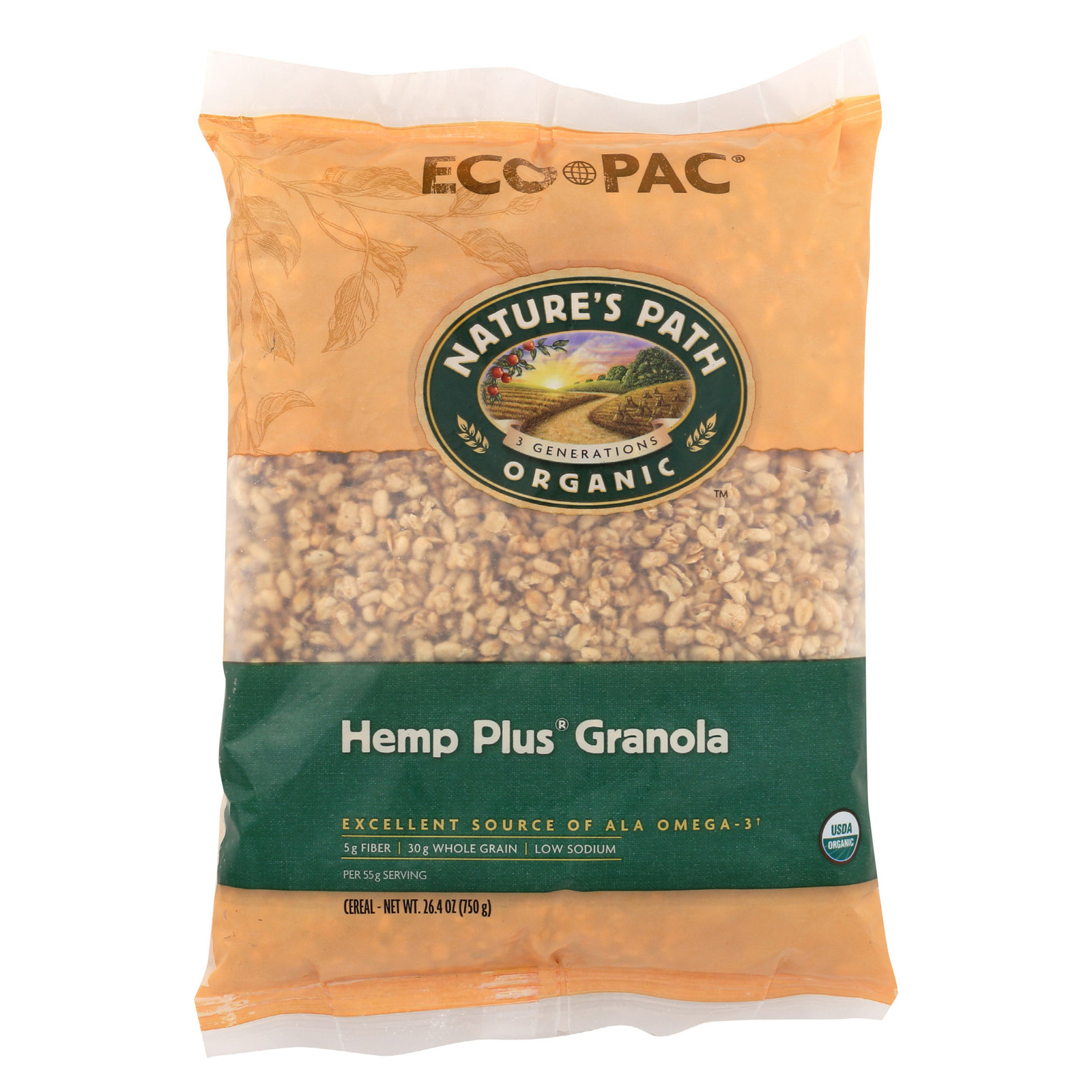 Cucina Antica Low Fat Italiano Nature S Path Organic Hemp Plus Granola Eco Pac Pack Of 6 26 4 Oz By Nature S Path Foods Wellspace