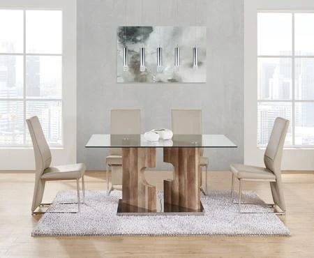 Global Furniture Usa D219dt4d735dc 5 Piece Dining Room Set