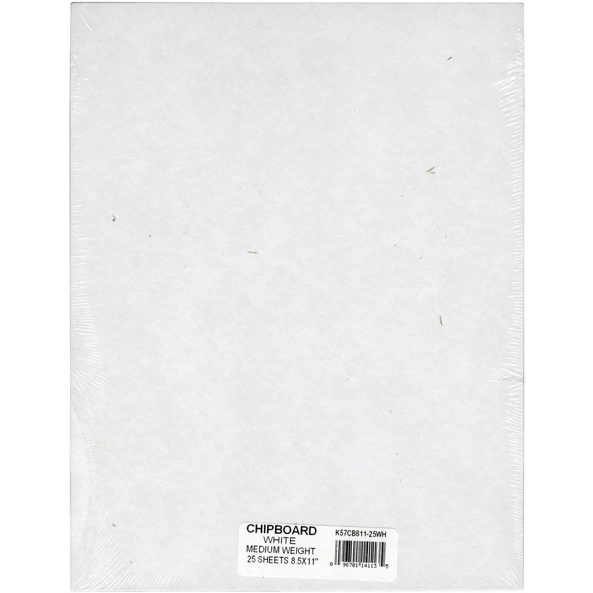"Spanplatte Gewicht Grafix Medium Weight Chipboard Sheets 8.5""x11"" 25/pkg"