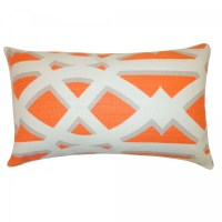 Jiti Crossroad Orange Lumbar Pillow