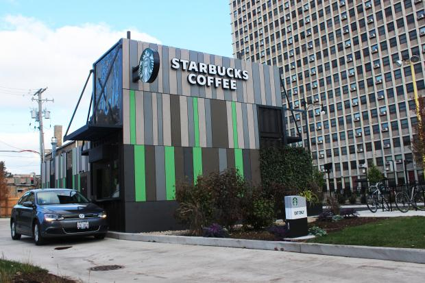 Starbucks Made From Shipping Containers Seattle Wa