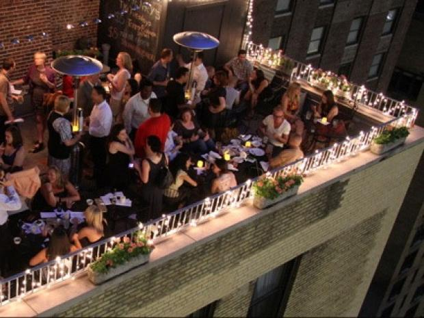 Kitchen Island Top 10 Unpretentious Rooftop Bars In New York City - New