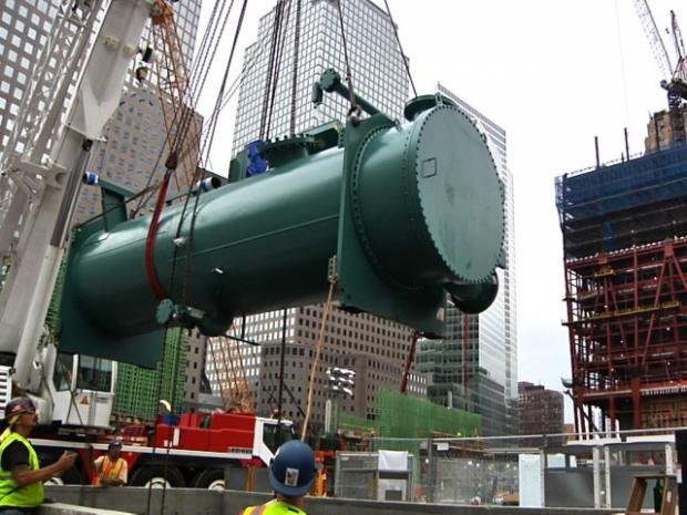 York Ac Wiring Diagram Giant Air Conditioner Arrives At World Trade Center Site