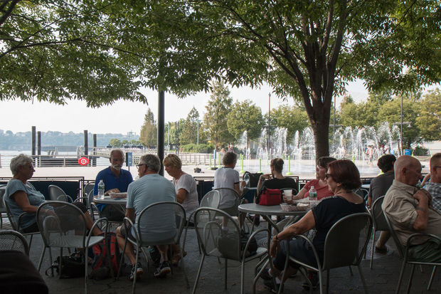 Kitchen Island Carts With Seating Operator Of Waterfront Cafe And Food Carts Sought For Pier