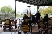 Patio At Cafe Brauer Reopened For Season