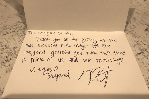 Kris Bryant Is Sending Thank-You Notes To Fans Who Sent Him Wedding