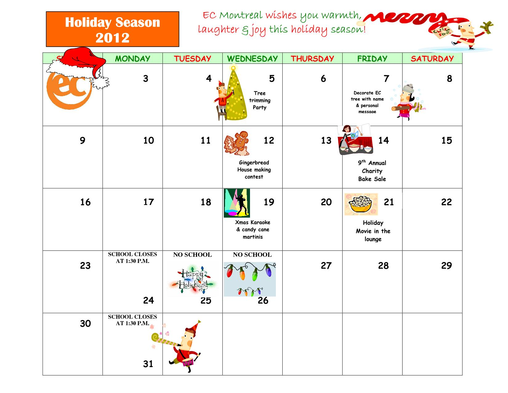 Event Calendar Montreal August 2014 Montral Festivals And Events For Everyone Tourisme Montral Christmas Is Coming Ec Montreal Blog