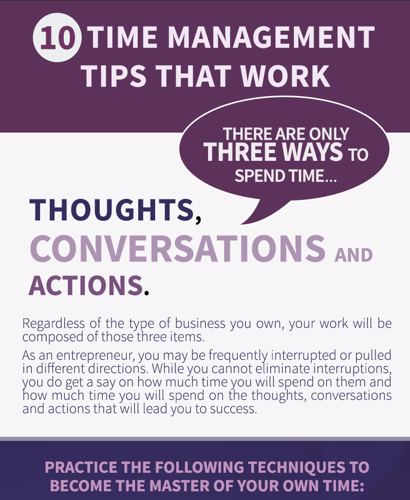 How to Manage Time With 10 Tips That Work - work tips