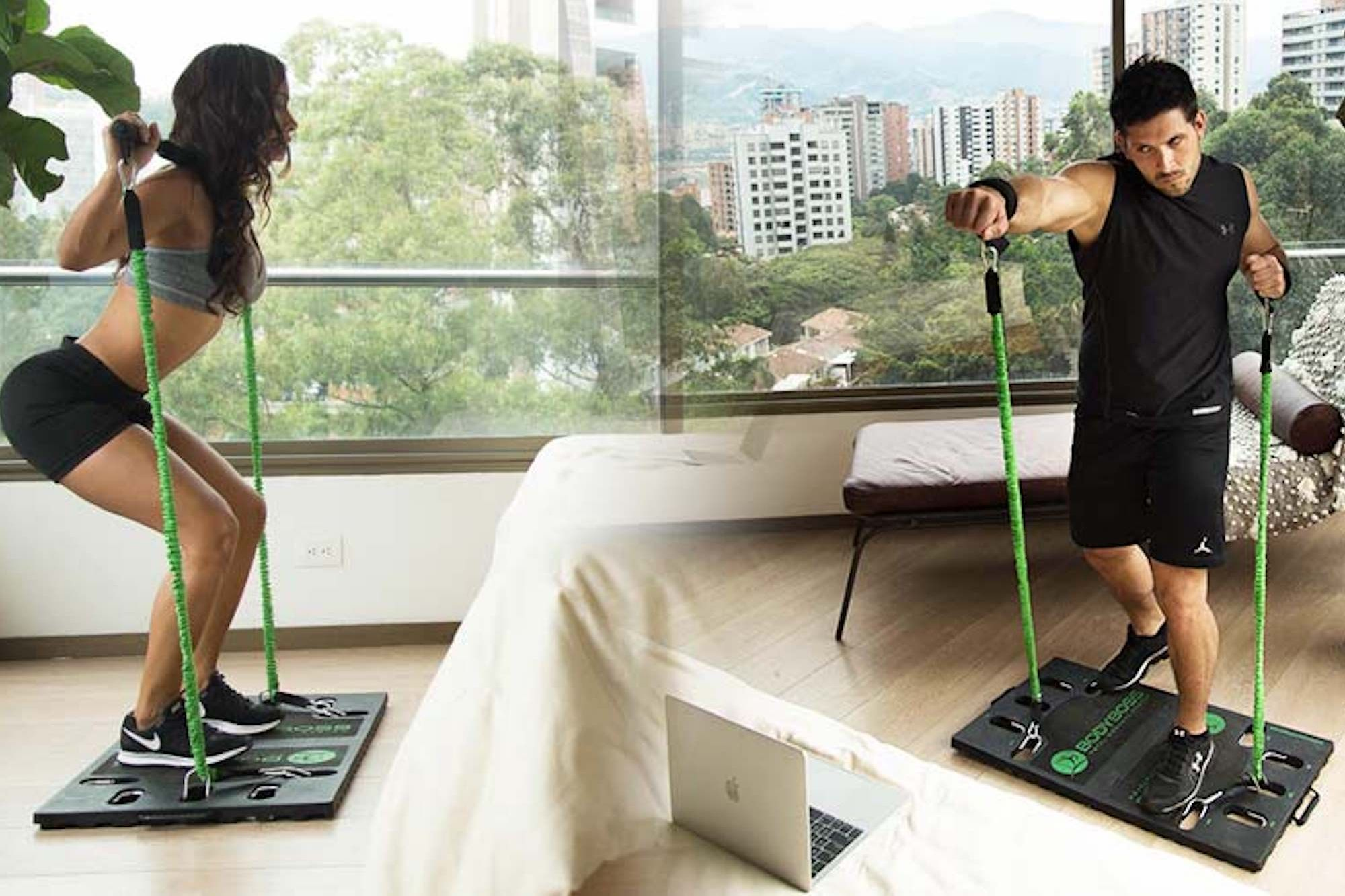 Too Busy To Exercise Save The Excuses With This Portable Gym