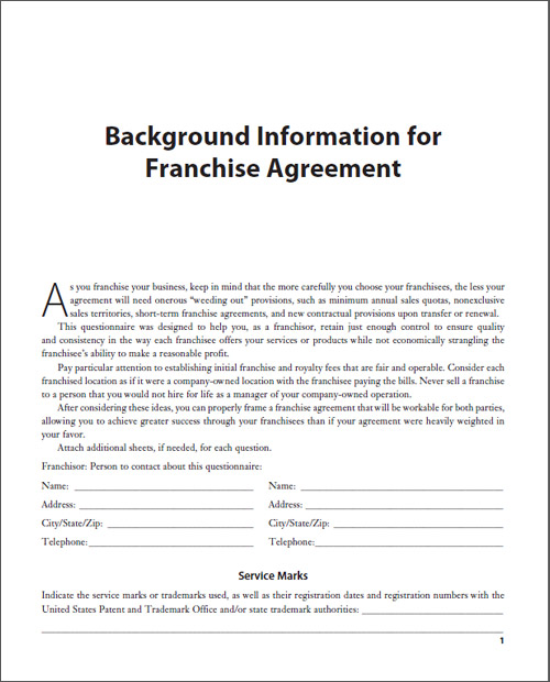 Franchise Resources