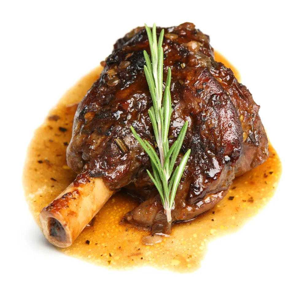 Lamb Foreshank Braised Lamb Shanks With Rosemary
