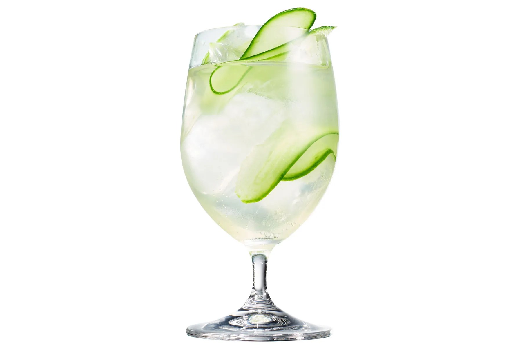 Drink Gin Cucumber Gin Cocktail