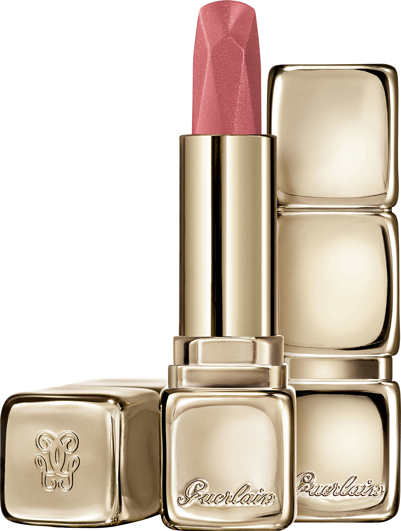 Guerlain Kisskiss Diamond Lipstick Satin Finish - Satin Finish Lipstick