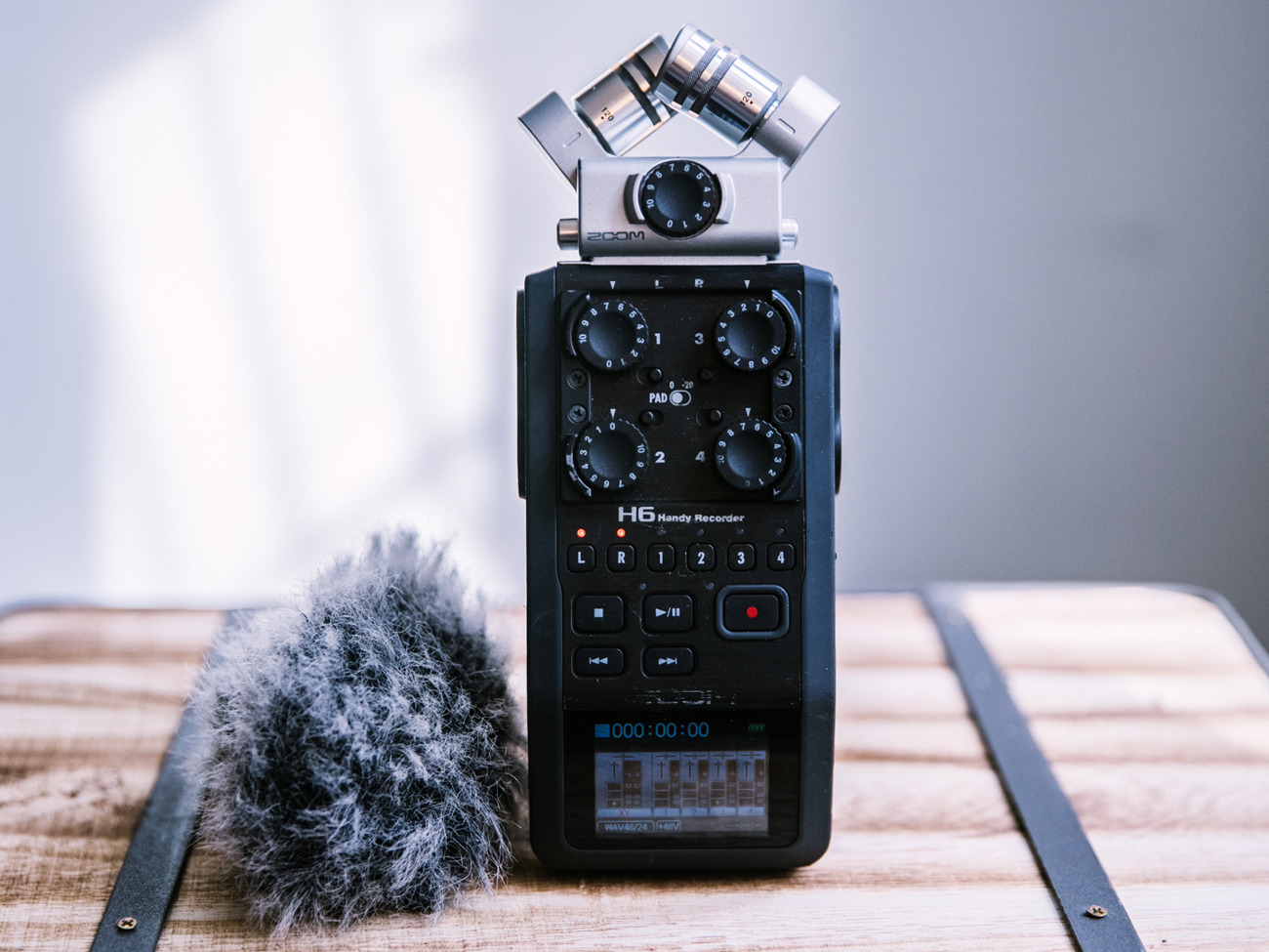 Zoom H6 Recorder Durable Zoom H6 Audio Recorder With Accessories