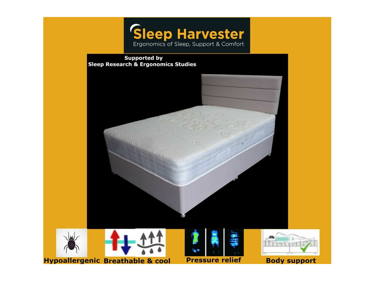 Single Pocket Sprung Memory Foam Mattress Buy Luxury Pocket Sprung Mattress Memory Foam Quilted Border