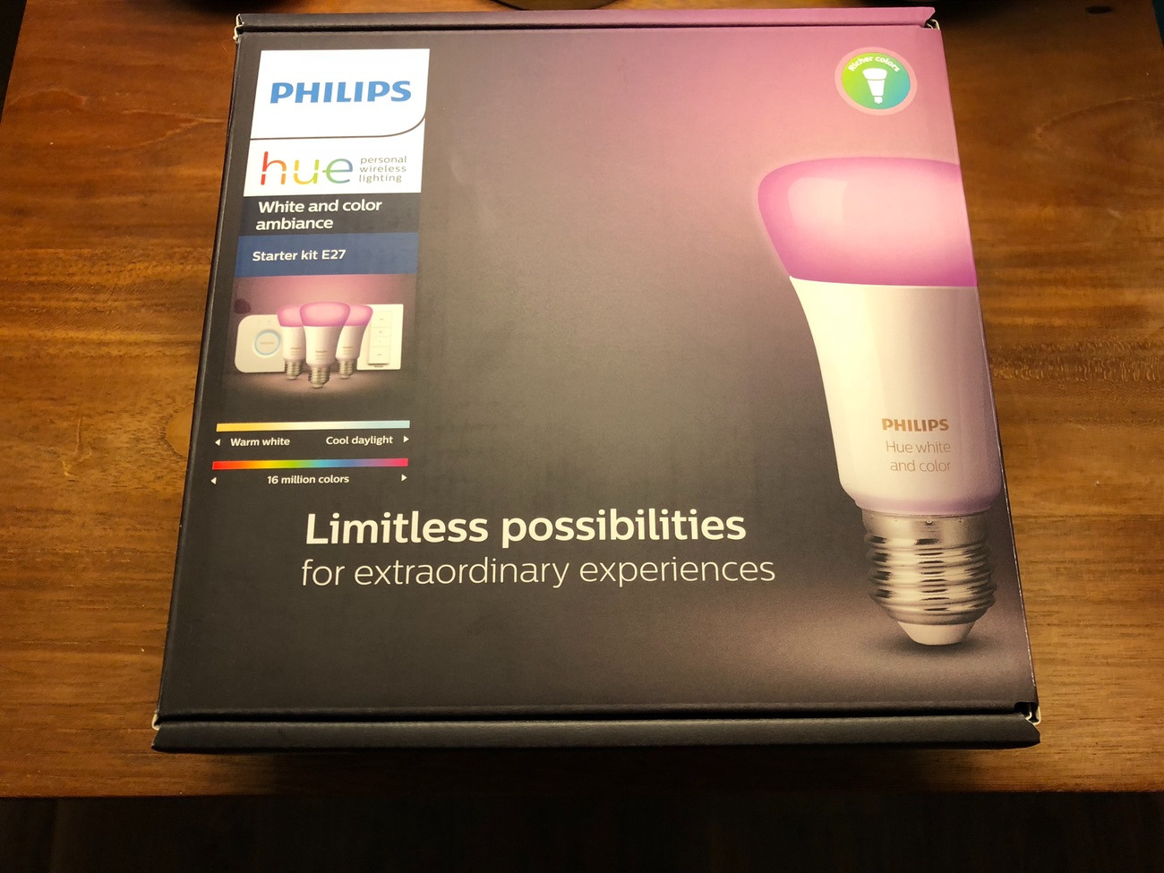 Philips Hue Starter Kit E27 Philips Hue Bulb Starter Kit E27 Screw