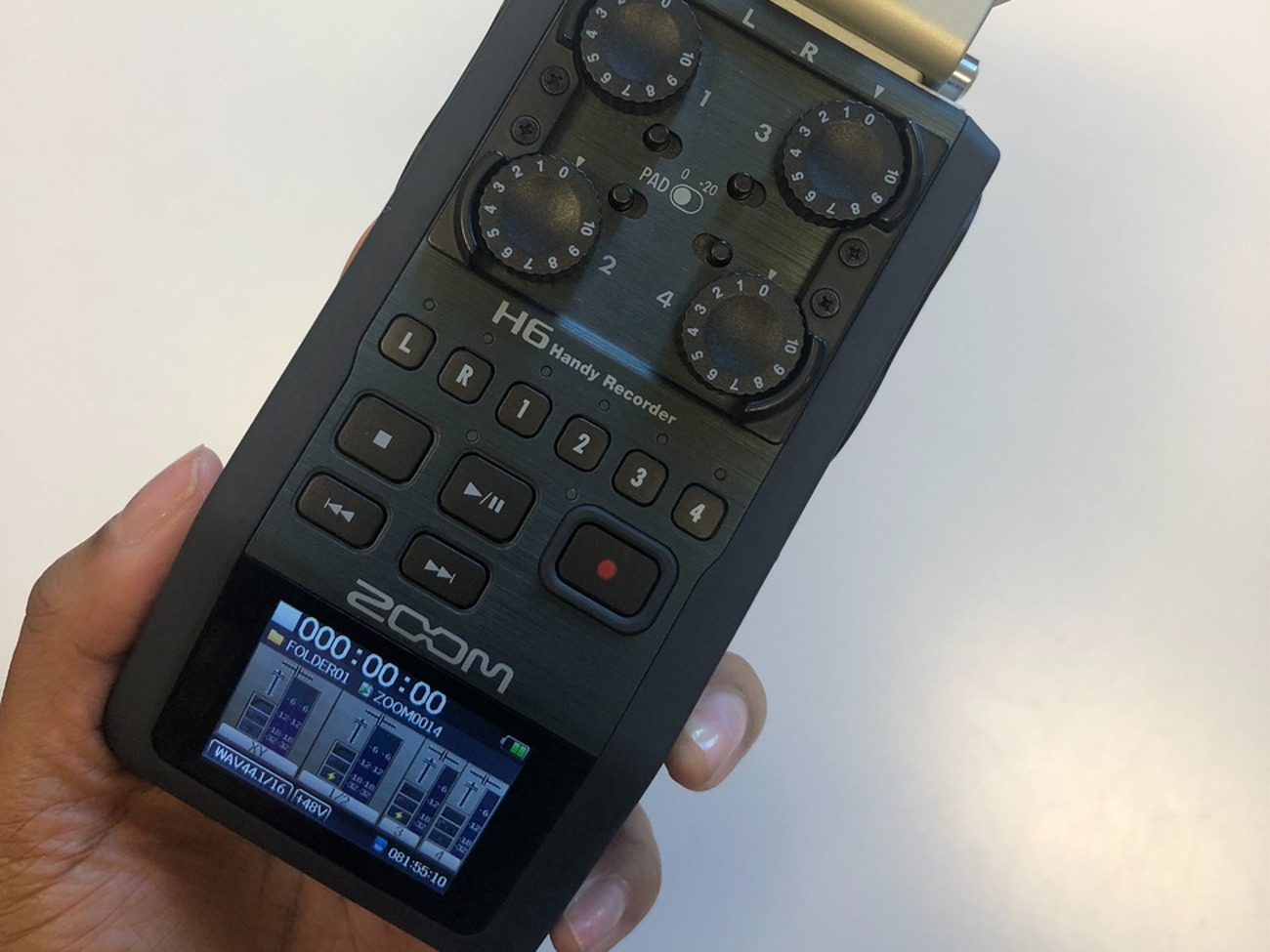 Zoom H6 Recorder Zoom H6 Audio Recorder Full Kit