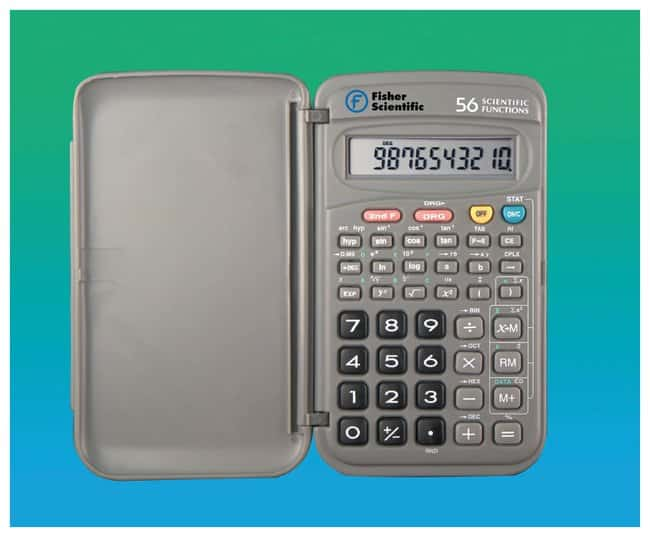 Fisherbrand Pocket-Sized Scientific Calculator 127L x 76W x 13cm H;